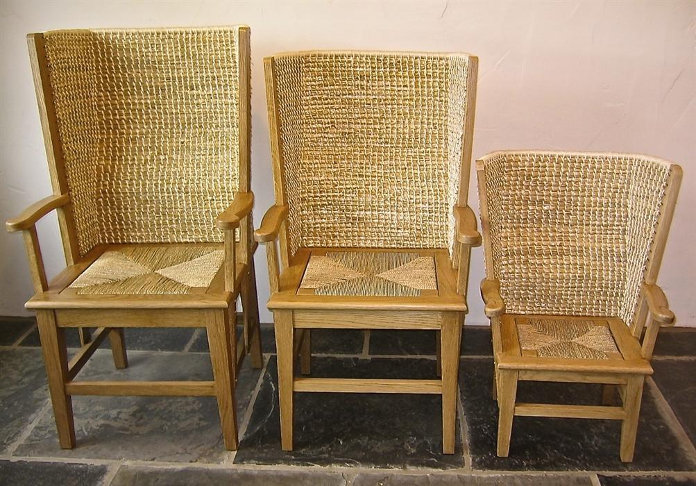 Attirant Scapa Crafts Oak Orkney Chairs   Gents, Ladyu0027s U0026 Childru0027s ...