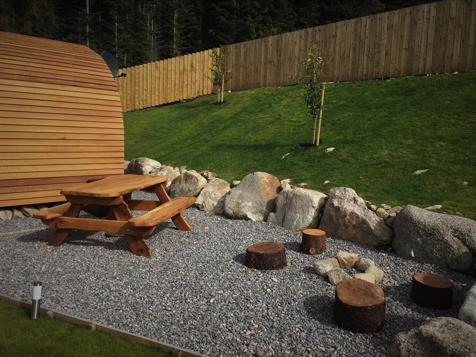 Tomatin Glamping Pods Inverness Camping Pods