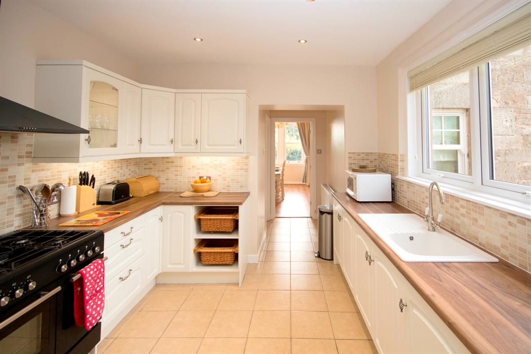 Kersmains farm cottage luxury b b visitscotland for Luxury kitchens scotland