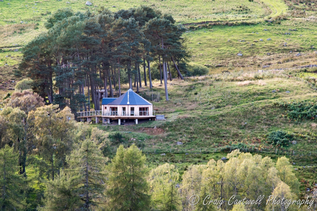 The Glenshee Treehouse Blairgowrie Treehouse