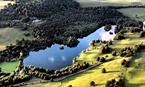 Loch Monzievaird Birdseye