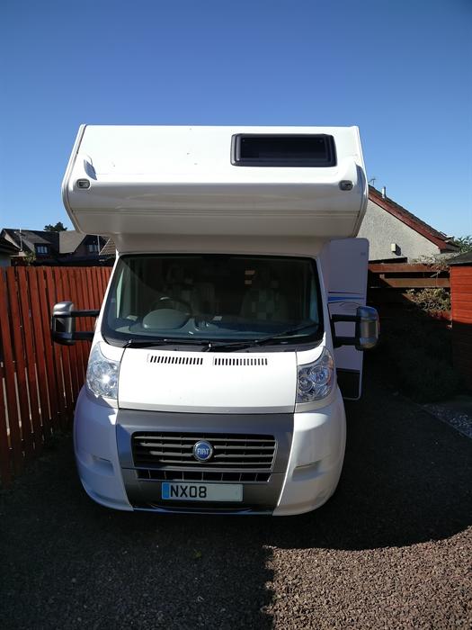 Amazing Motorhome For Hire  6 Berth  Mooveo C6 Location Selkirkshire