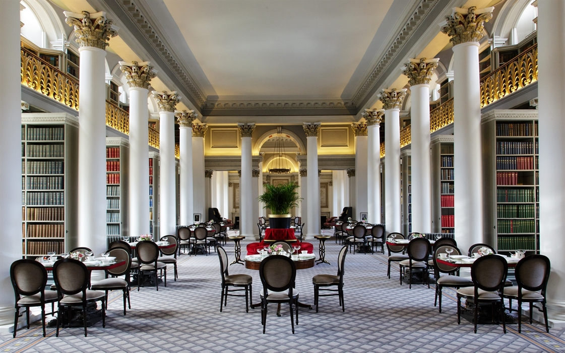 Colonnades At The Signet Library Edinburgh Cafes