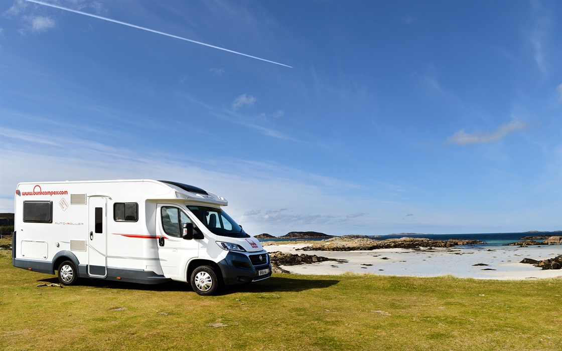 Cool 23 Miles Away Motorhome Hire Scotland
