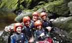 Gorge Walking, Sutherlands Grove, by Oban