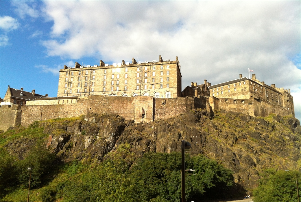edinburgh castle terrace visitscotland