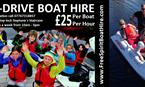 self drive boat hire FREE SPIRIT