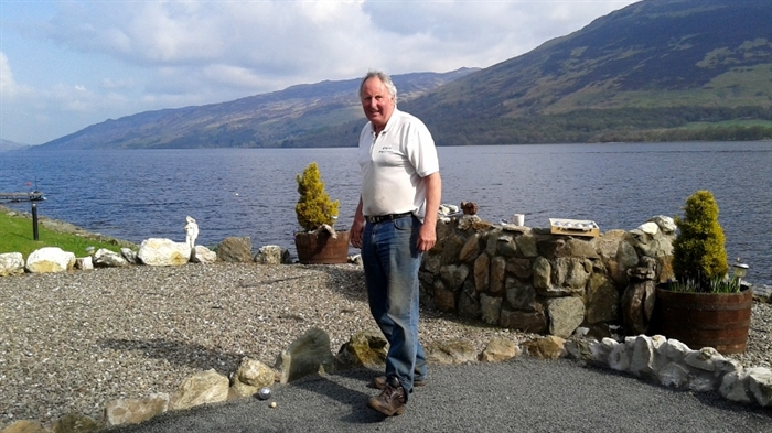 Playing Boule on the Banks of Loch Earn- Briar Cottages Luxury Self Catering Lochearnhead