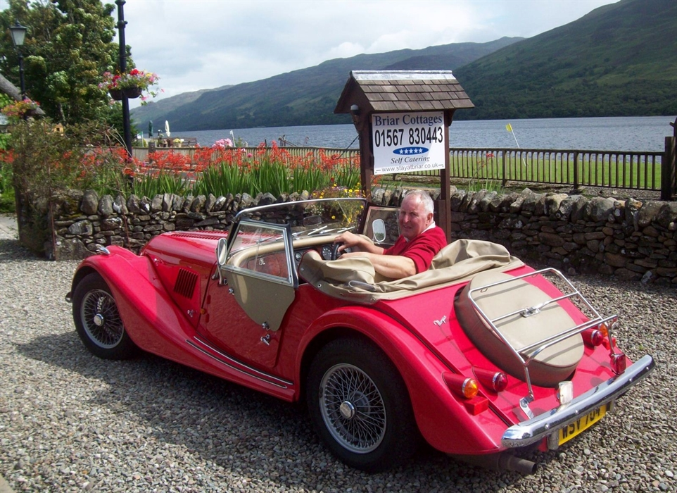 Classic Morgan at Briar Cottages Loch Earn