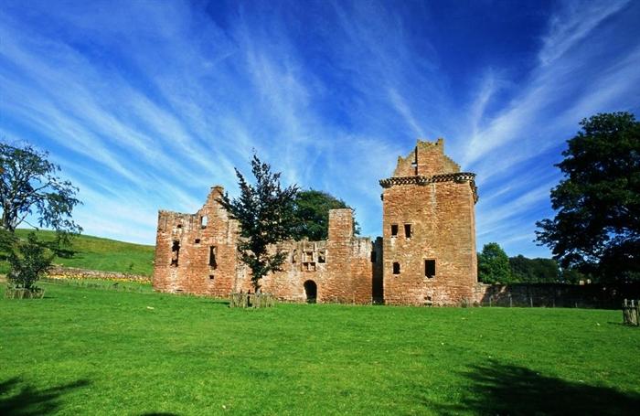Edzell Castle Gardens Perth Brechin scotland picnic spots