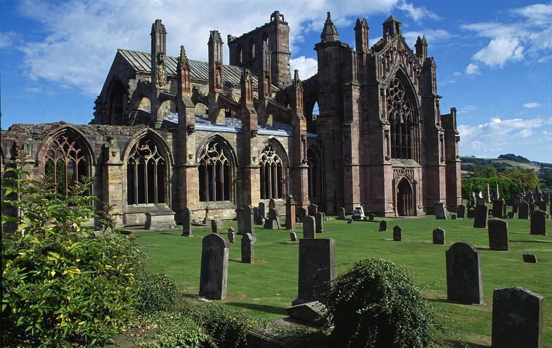 Melrose Abbey Visitscotland