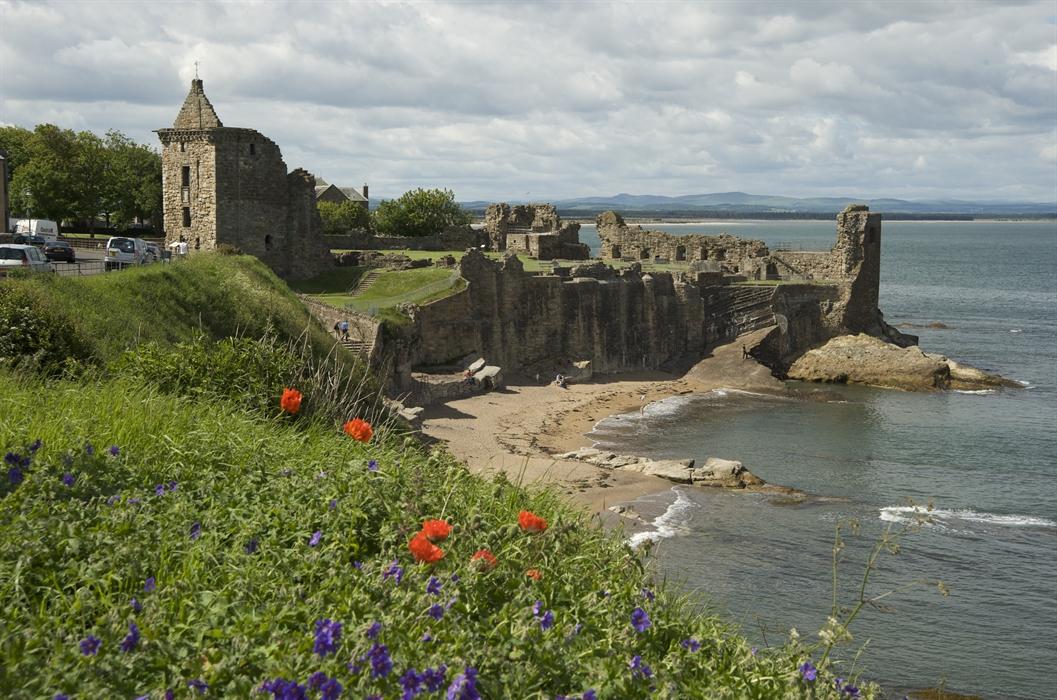 St Andrews Castle St Andrews Castles Visitscotland
