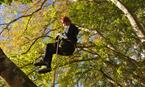 Tree climbing with Tree Climbing Scotland