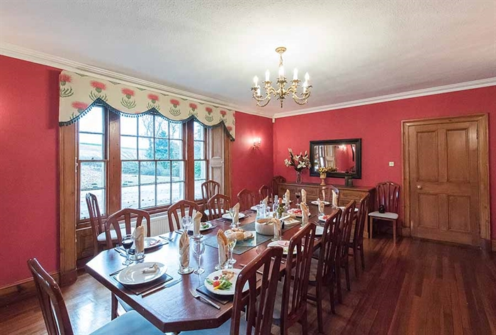 Rossie Ochil House Forgandenny Self Catering