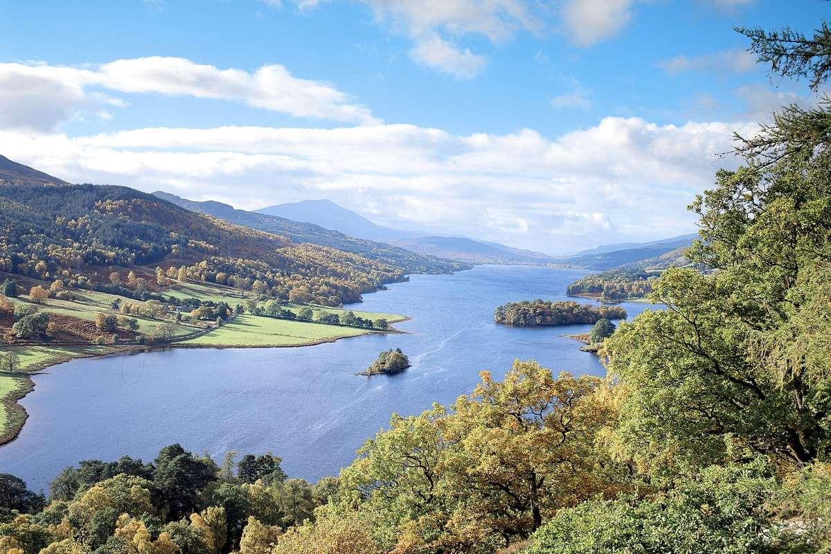 Schiehallion Highland Perthshire Loch Tummel